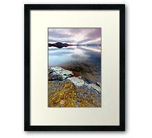 Þingvallavatn lake Framed Print