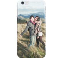 Kerry and Jin Walkers Lookout iPhone Case/Skin