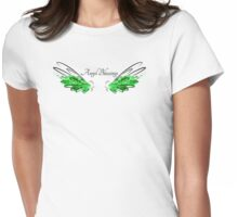 Archangel Raphael: Angel Blessings Womens Fitted T-Shirt