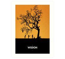 99 Steps of Progress - Wisdom Art Print
