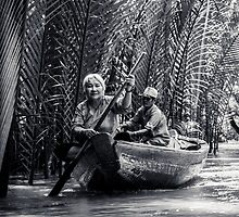 Mekong Delta villagers by Bimal Tailor