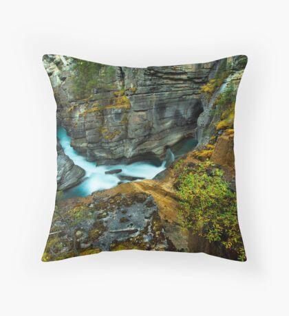 Magical Canyon Throw Pillow