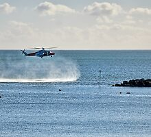 Coastguard Training Exercise by Susie Peek