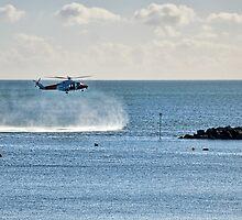 Coastguard Training Exercise by Susie Peek
