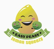 Easy Peasy Lemon Squeezy Kids Tee