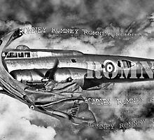 Is it a Bird is it a Plane No its Romney. by Andrew Nawroski