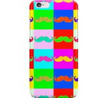 Mustache by Warhol iPhone Case/Skin