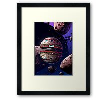 Into the Asteroid Field Framed Print