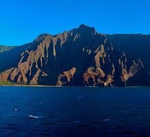 Napali Coast Panorama Edited by Matthew Bonafe