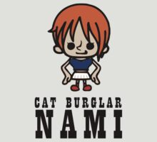 One Piece - Cat Burglar Nami by Sandy W