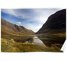 Reflections of Glencoe Poster