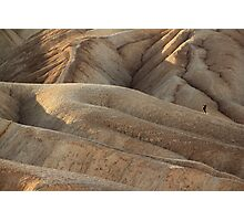 Lone Photographer, Death Valley Photographic Print