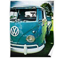 Vintage Volkswagen  Poster