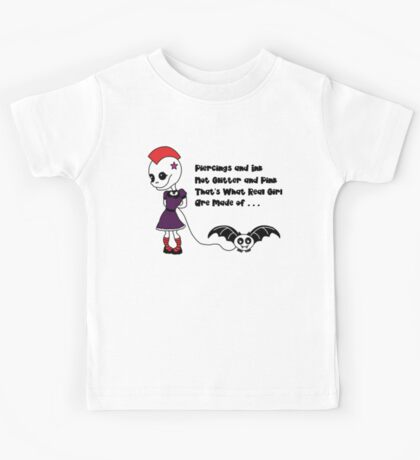 What Real Girls Are Made Of.. Kids Tee
