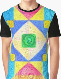 #DeepDream Color Squares Visual Areas 5x5K v1448181063 Graphic T-Shirt
