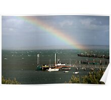 ~ Bay of Shoals - Spring Storm ~ Poster