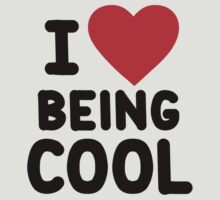I heart being cool by onebaretree