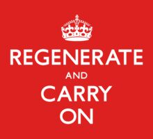 Regenerate and Carry On Kids Clothes