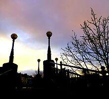 Dusk In Bangor by Fara