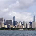Chicago from Adler Planetarium by kenelamb