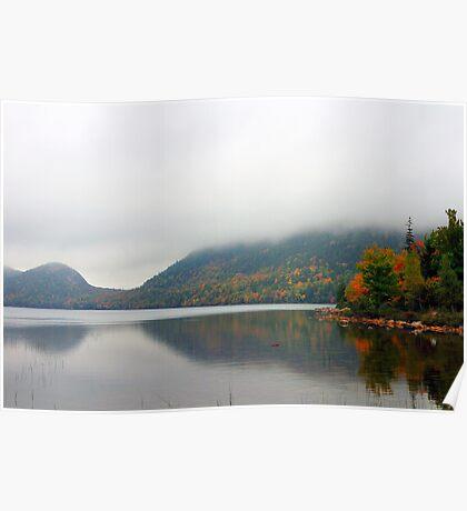 Jordan Pond, Acadia National Park, Maine, USA Poster