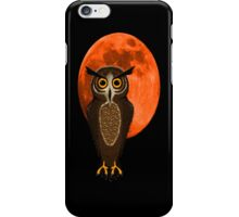 Owl phone you later iPhone Case/Skin