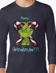 Merry Grinchmas Long Sleeve T-Shirt