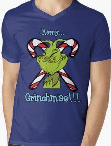 Merry Grinchmas Mens V-Neck T-Shirt