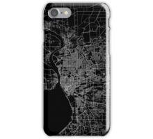 Buffalo map New York iPhone Case/Skin
