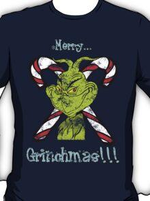 Merry Grinchmas (Grunge ver.) T-Shirt