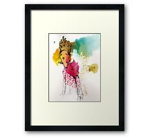 Tired queen Framed Print