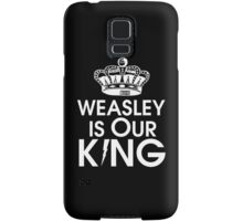Weasley is our king - White Samsung Galaxy Case/Skin