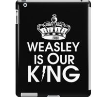 Weasley is our king - White iPad Case/Skin