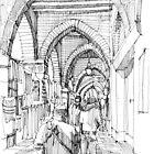 Negozi a Genova by Luca Massone  disegni