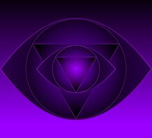 Mandala  Ajna Chakra  Brow Chakra by Sarah Niebank