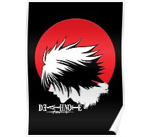 Red Light Yagami Moon Poster
