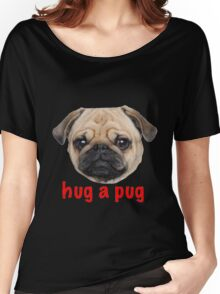 Pug hug Women's Relaxed Fit T-Shirt