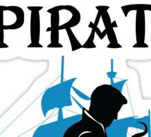 I'll take the Pirate! Sticker