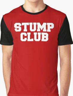 Stump Club - White Lettering Graphic T-Shirt