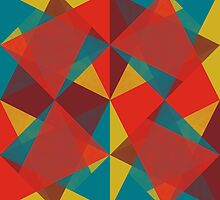 Triangular brushed pattern #4 by francescoberger