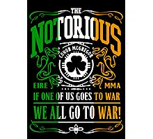 Conor Mcgregor - Go To War Photographic Print
