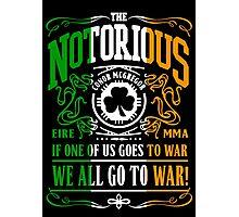 Mcgregor - Go To War Photographic Print