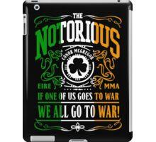 Mcgregor - Go To War iPad Case/Skin