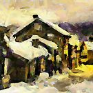 Already feeling the winter blaze by DiNovici