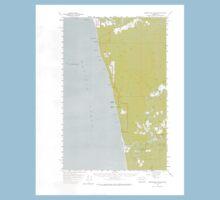 USGS Topo Map Washington State WA Destruction Island 240842 1956 62500 Kids Tee
