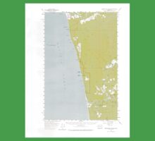 USGS Topo Map Washington State WA Destruction Island 240842 1956 62500 Kids Tee