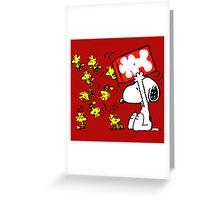 snoopy Greeting Card