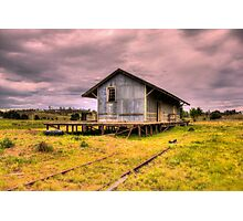 Goods Shed  Nimmitabel Rail Station Rural NSW Photographic Print