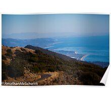 Coast of Santa Barbara Poster