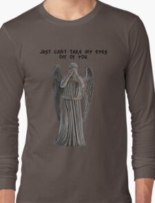 I just can't take my eyes off you. Long Sleeve T-Shirt
